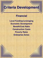 criteria development3