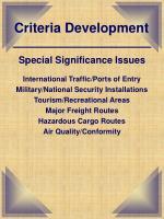 criteria development4