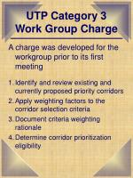 utp category 3 work group charge