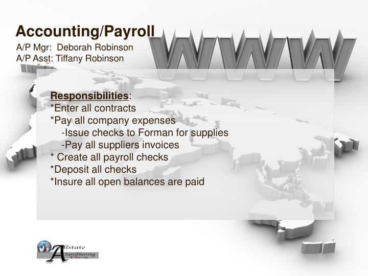 Accounting/Payroll