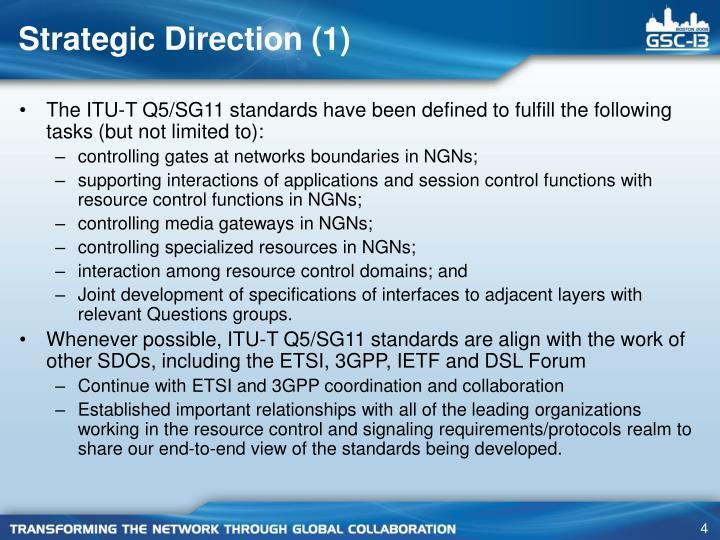 Strategic Direction (1)