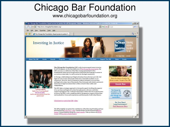 Chicago Bar Foundation