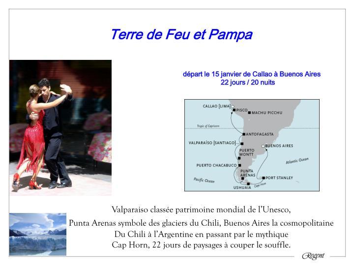 Terre de Feu et Pampa