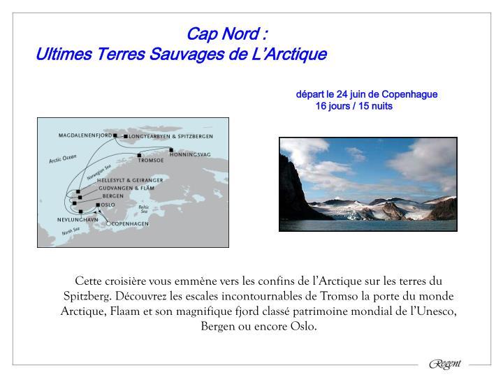 Cap Nord :
