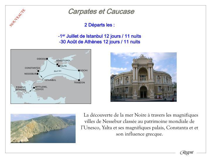Carpates et Caucase