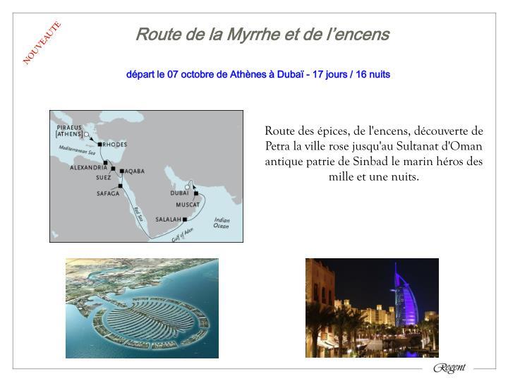 Route de la Myrrhe et de l'encens
