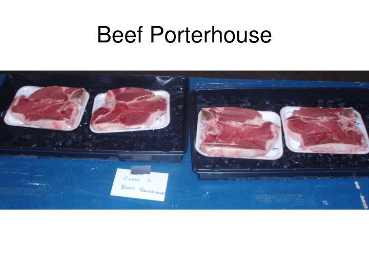 Beef Porterhouse