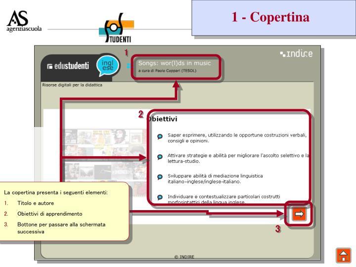 1 - Copertina