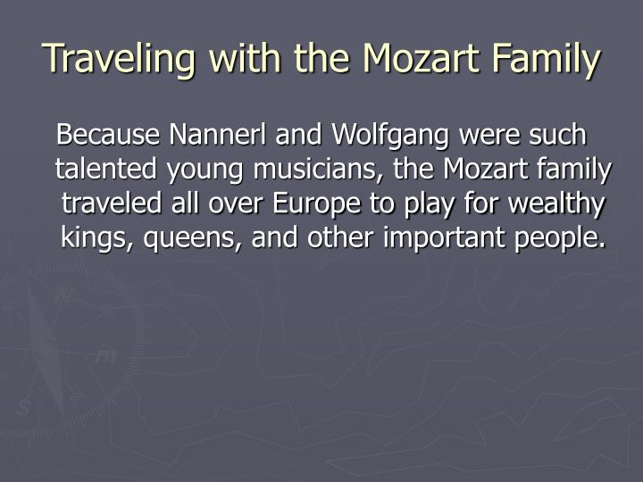 Traveling with the Mozart Family