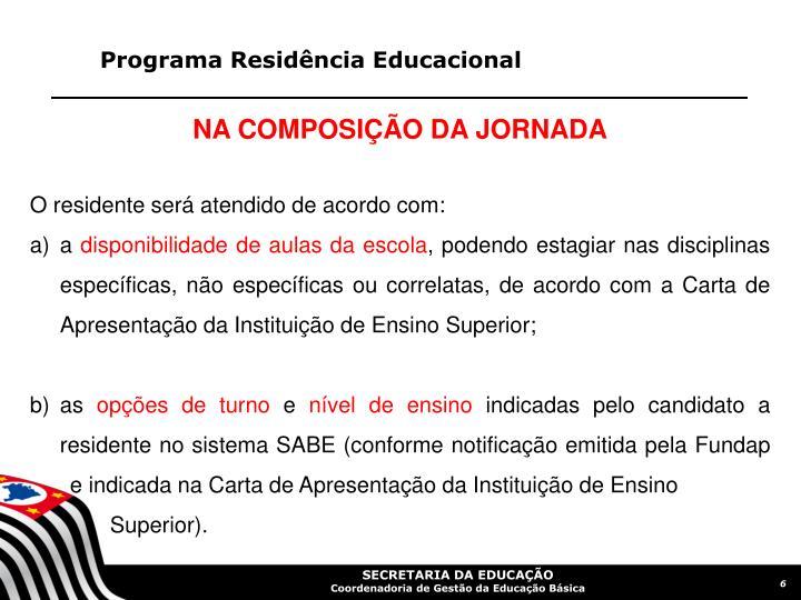 Programa Residência Educacional