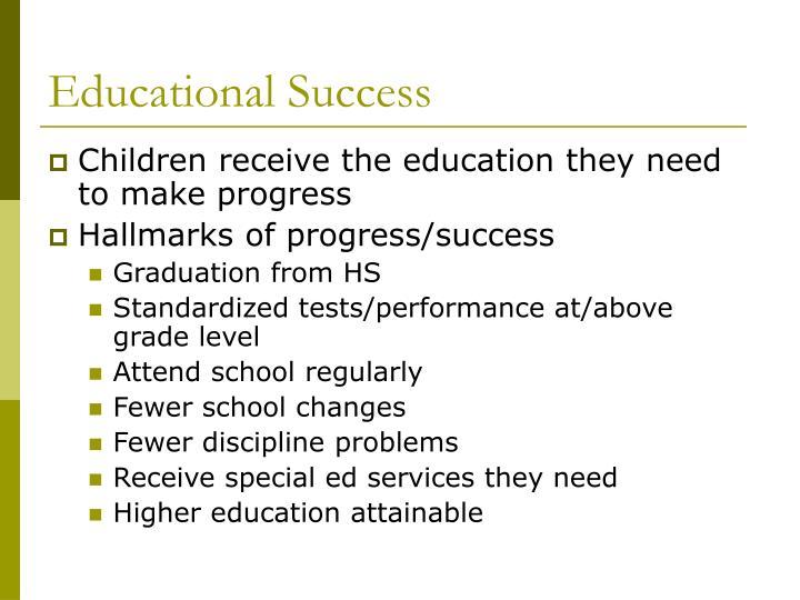 Educational Success