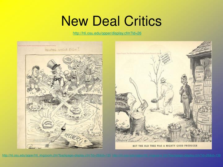 New Deal Critics