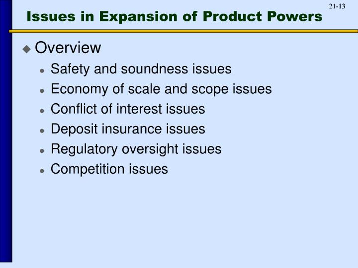 Issues in Expansion of Product Powers