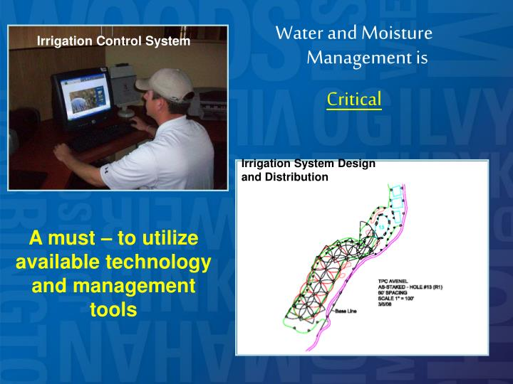 Water and Moisture Management is