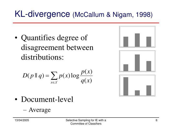 KL-divergence