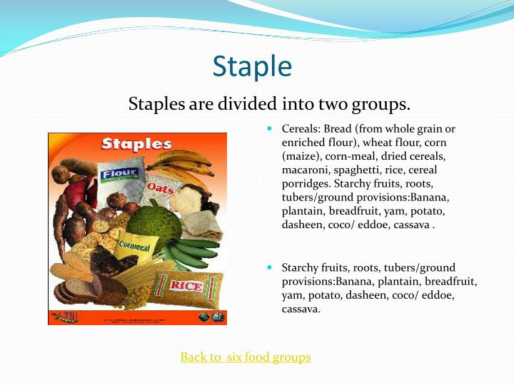 PPT - Caribbean Food Groups PowerPoint Presentation - ID ...