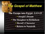 the gospel of matthew5