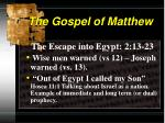 the gospel of matthew6