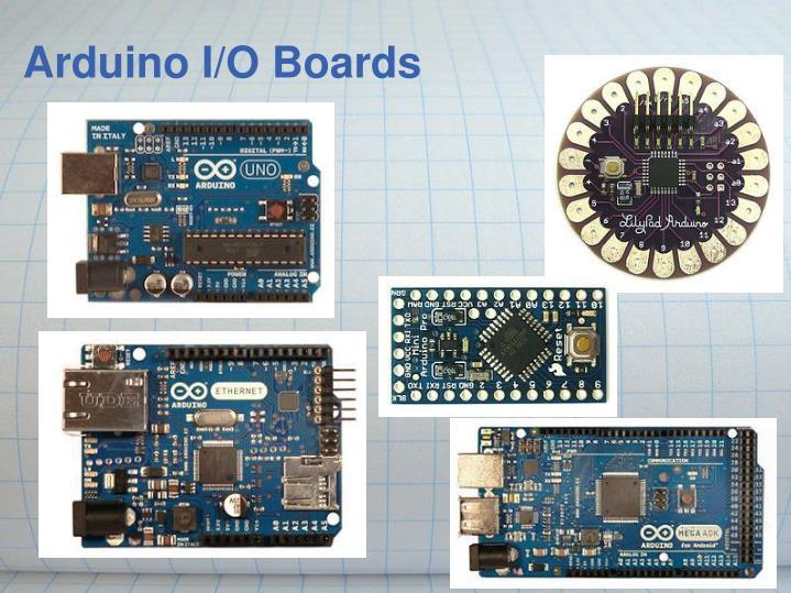 Arduino I/O Boards
