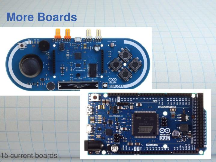 More Boards