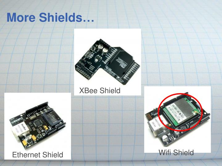 More Shields…