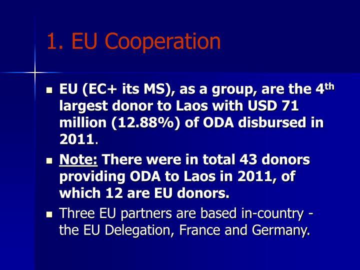 1. EU Cooperation