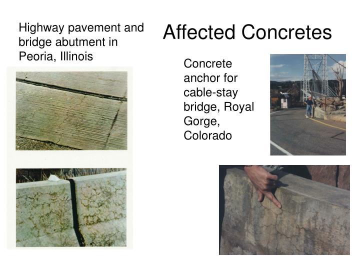 Affected Concretes