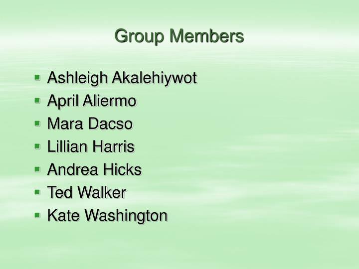 Group Members
