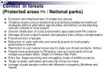 conflict in forests protected areas pa national parks