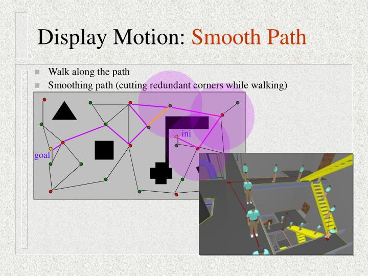 Display Motion: