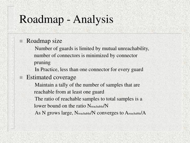 Roadmap - Analysis