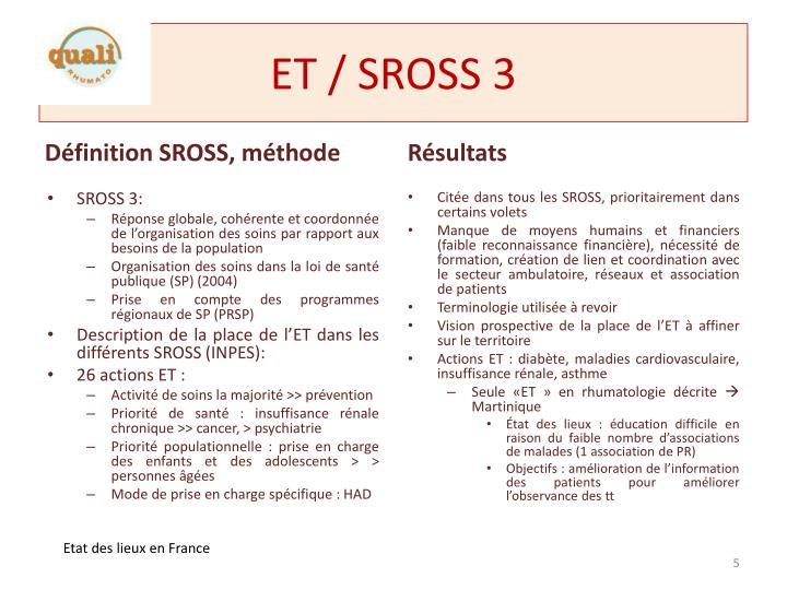 ET / SROSS 3