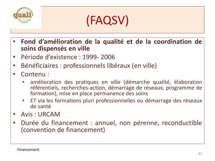 (FAQSV)