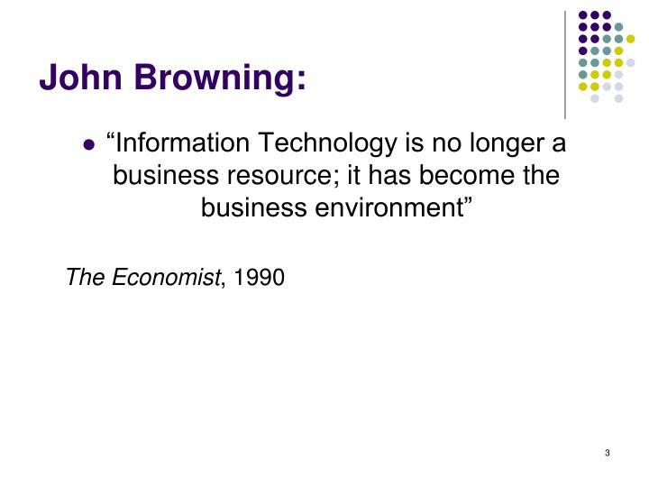 John Browning:
