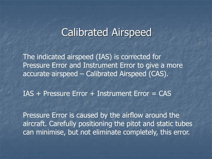 Calibrated Airspeed