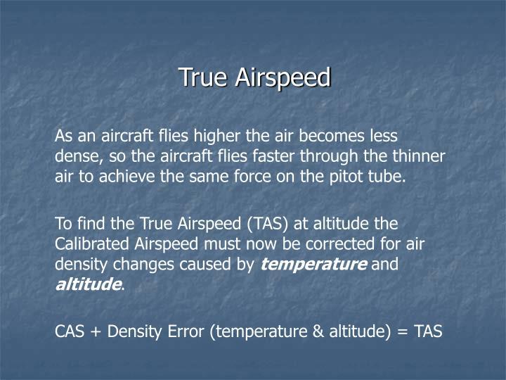 True Airspeed