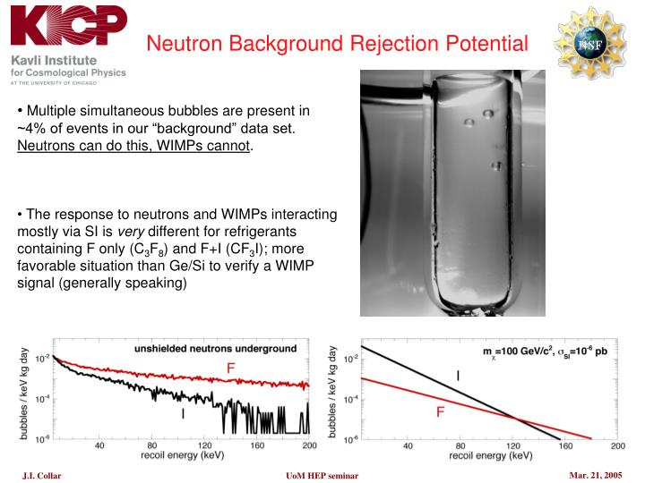 Neutron Background Rejection Potential