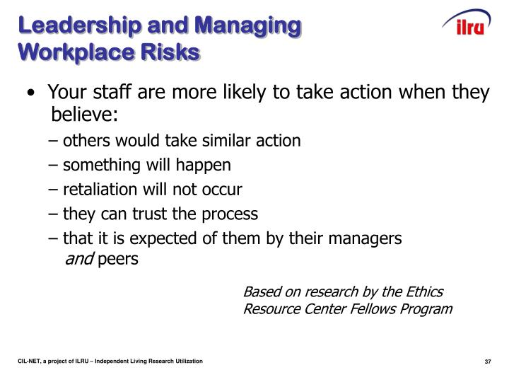 Leadership and Managing
