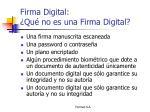 firma digital qu no es una firma digital