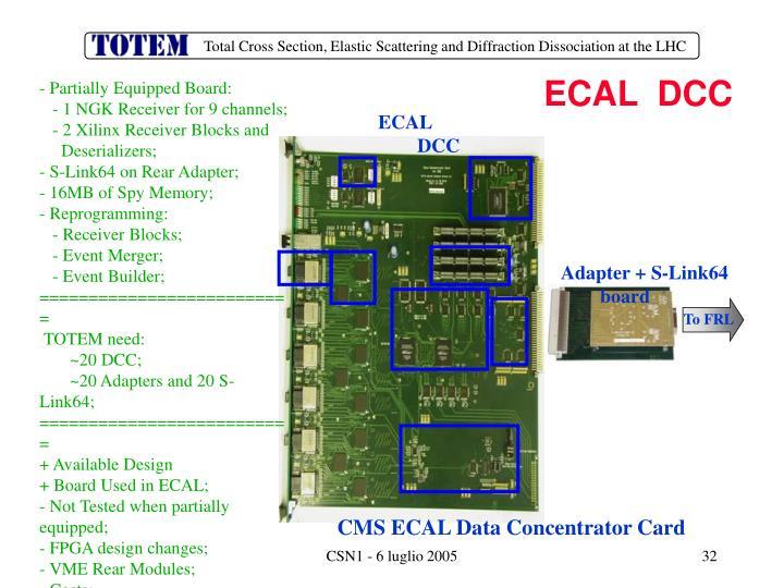 ECAL  DCC