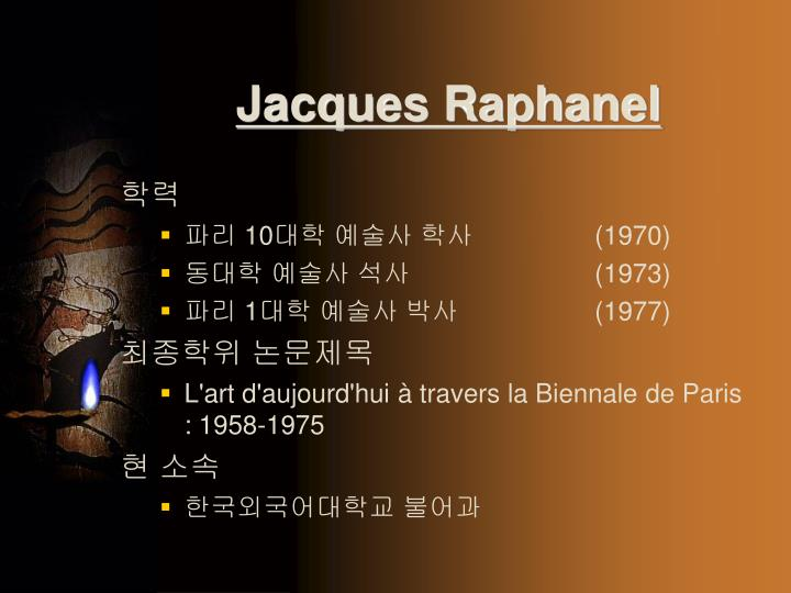 Jacques Raphanel