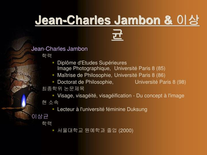 Jean-Charles Jambon &