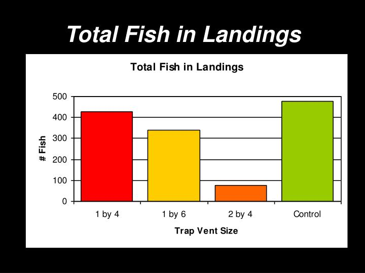 Total Fish in Landings