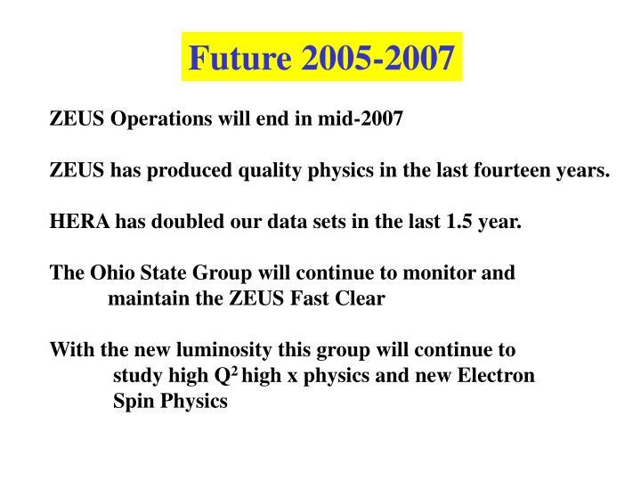 Future 2005-2007