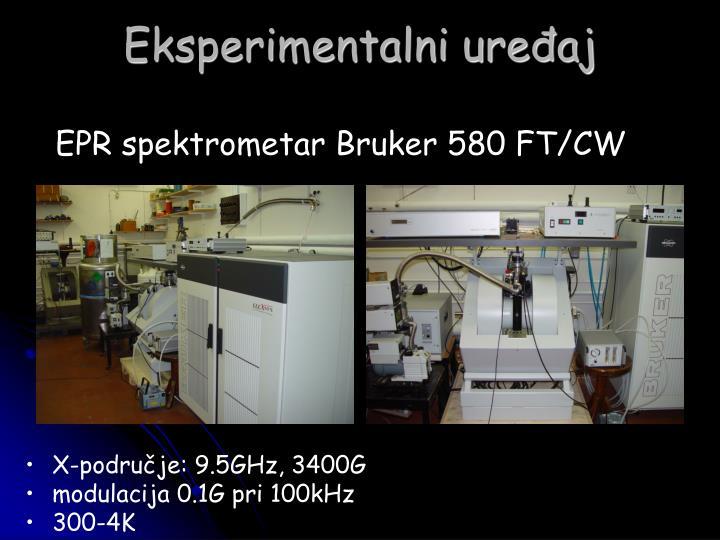 Eksperimentalni uređaj