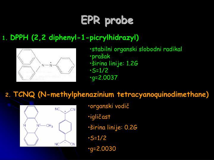 EPR probe