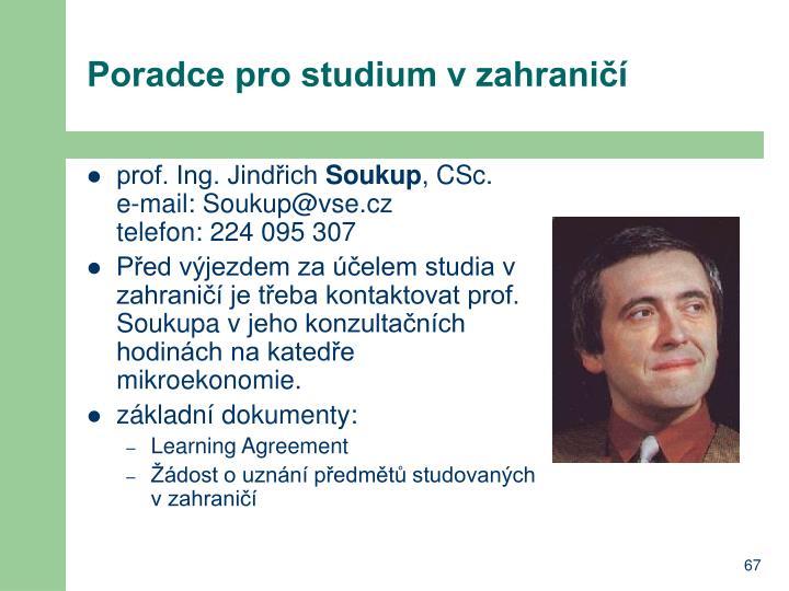 Poradce pro studium v zahraničí