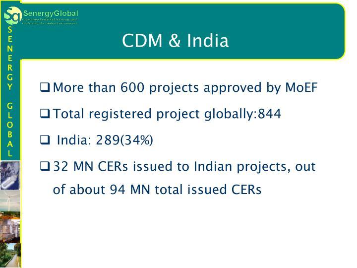 CDM & India