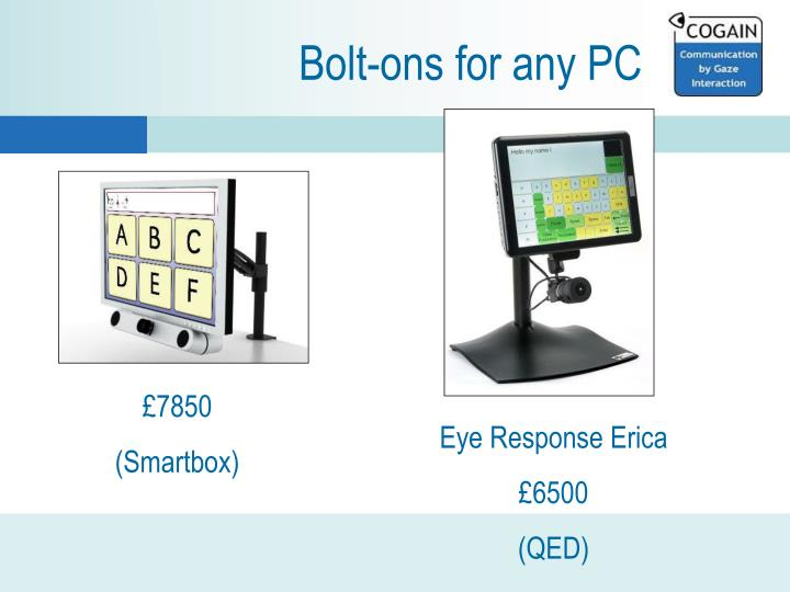 Bolt-ons for any PC
