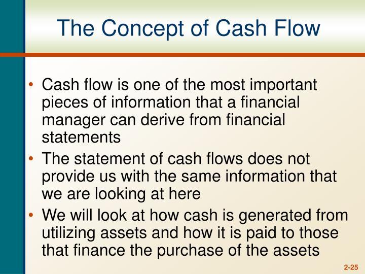 The Concept of Cash Flow